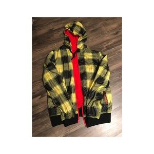 Urban Outfitters Charles & 1/2 windbreaker jacket.